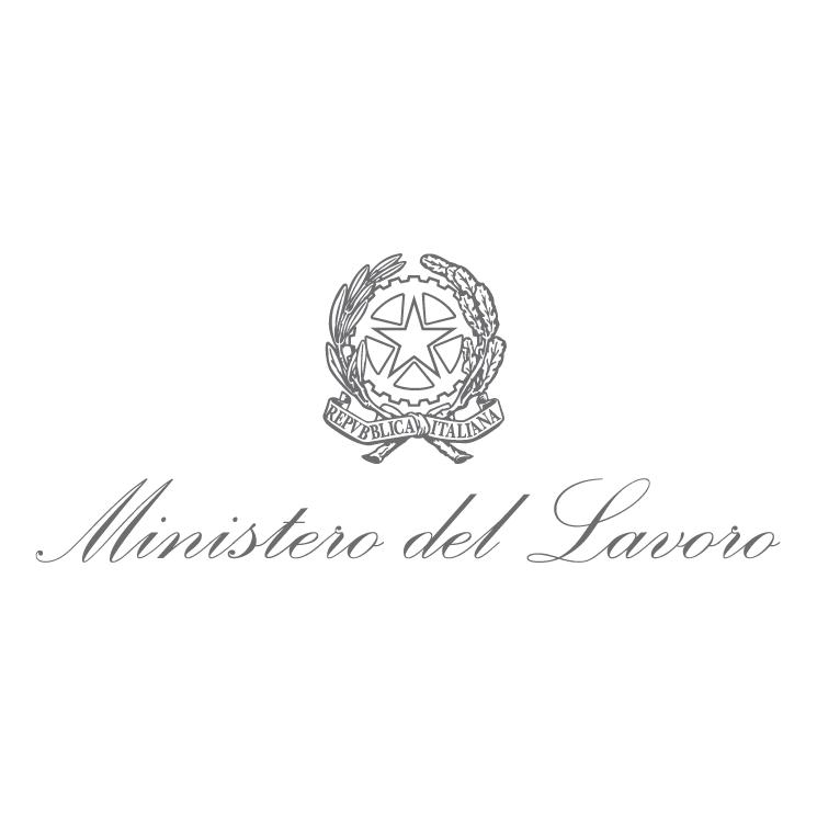 free vector Ministero del lavoro