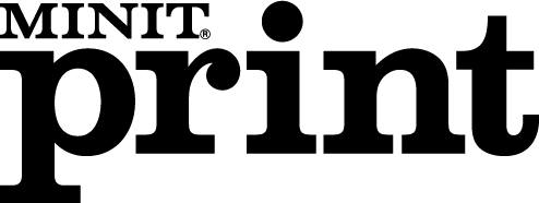 free vector Minit Print logo