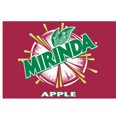 free vector Mirinda Apple Logo
