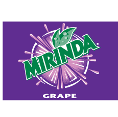 free vector Mirinda Grape Logo