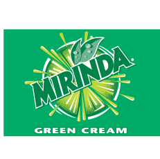 free vector Mirinda GreenCream Logo