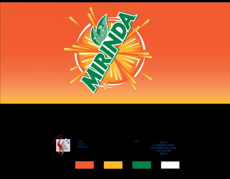 free vector Mirinda master97 logo
