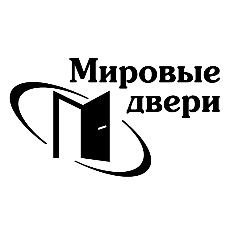 free vector Mirovye dveri