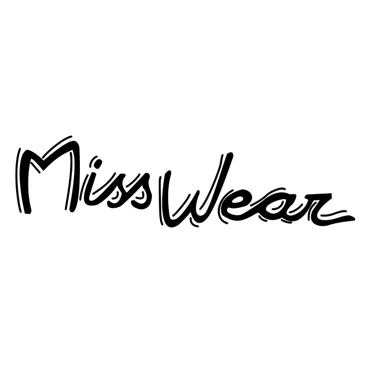 free vector Miss wear