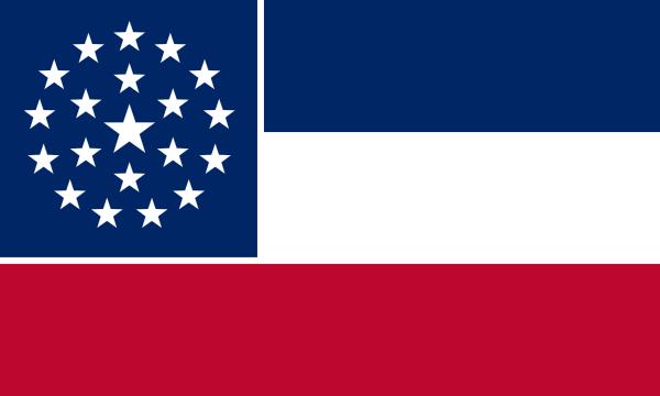 free vector Mississippi Flag Proposal clip art