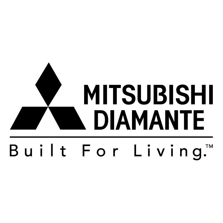 free vector Mitsubishi diamante