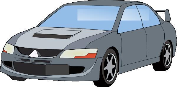 free vector Mitsubishi Evo clip art