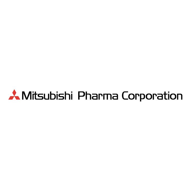 free vector Mitsubishi pharma corporation