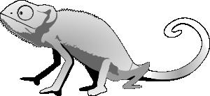 free vector Mlitty Gecko clip art