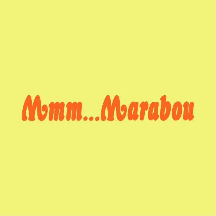 free vector Mmm marabou