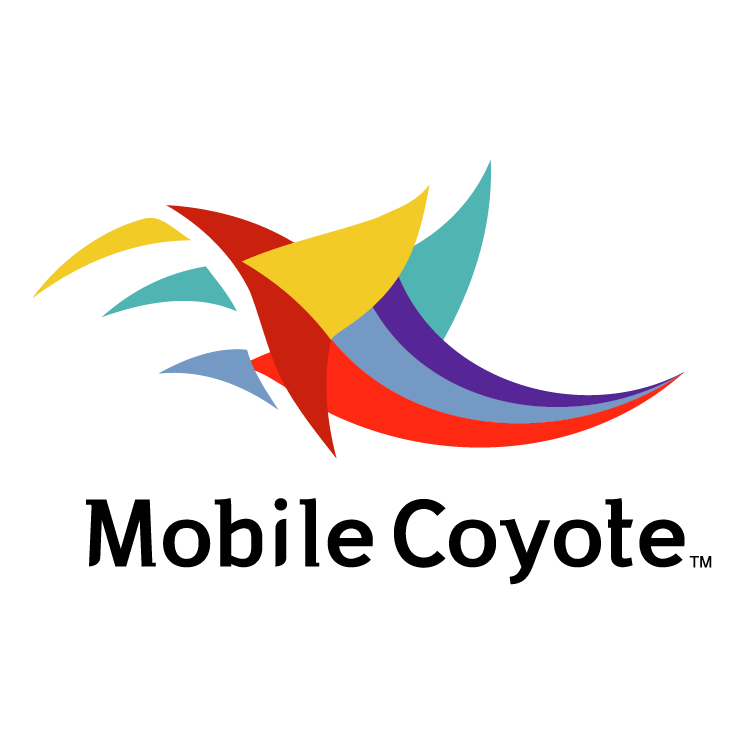 free vector Mobile coyote