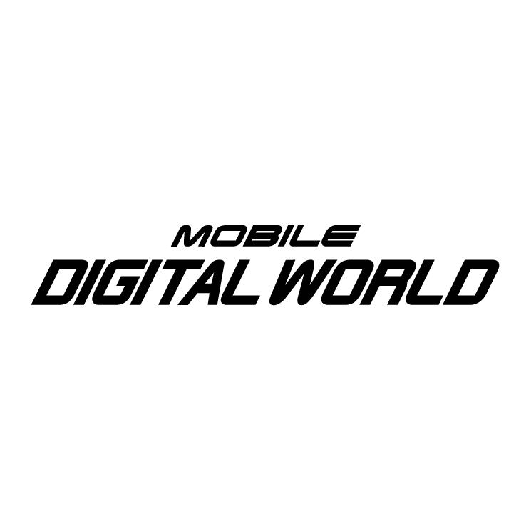free vector Mobile digital world