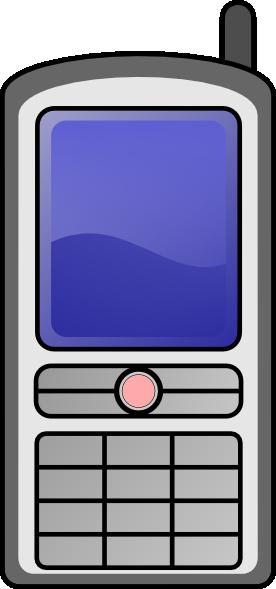 Mobile Phone clip art Free Vector / 4Vector