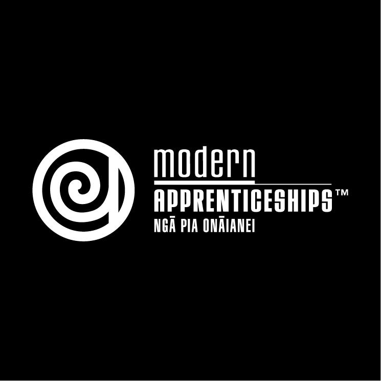free vector Modern apprenticeships