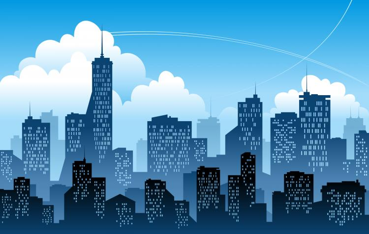 modern city free vector 4vector rh 4vector com city factors pontefract city factor electrical