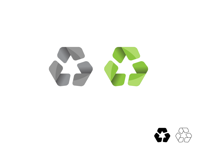 free vector Modern Recycle Symbol Vector