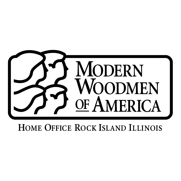 free vector Modern woodmen of america
