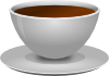 free vector Mokush Realistic Coffee Cup Front D View clip art