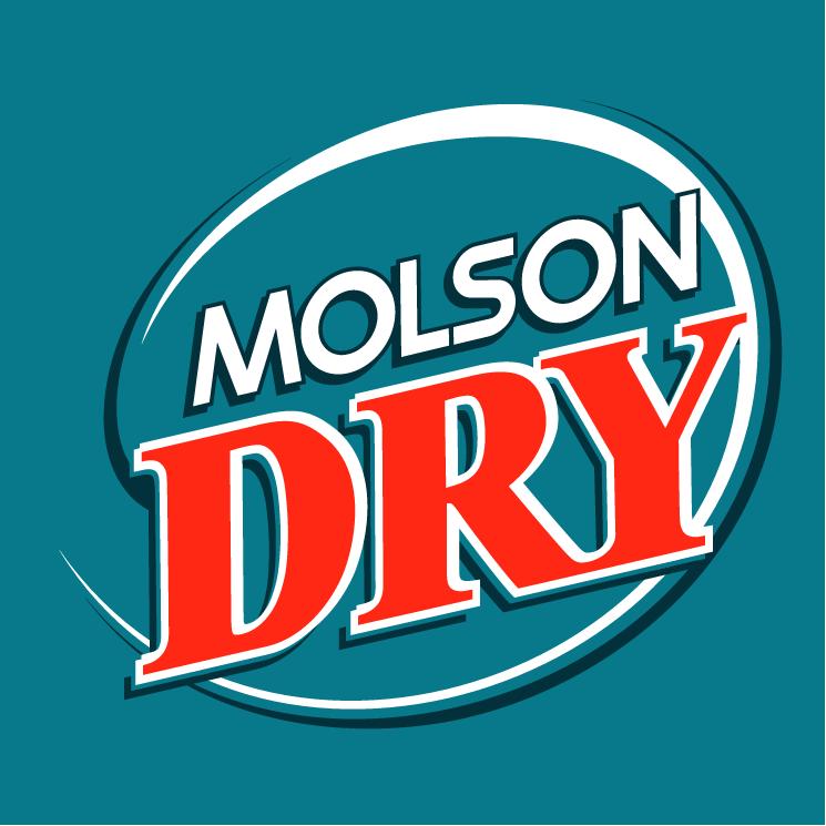 free vector Molson dry 1