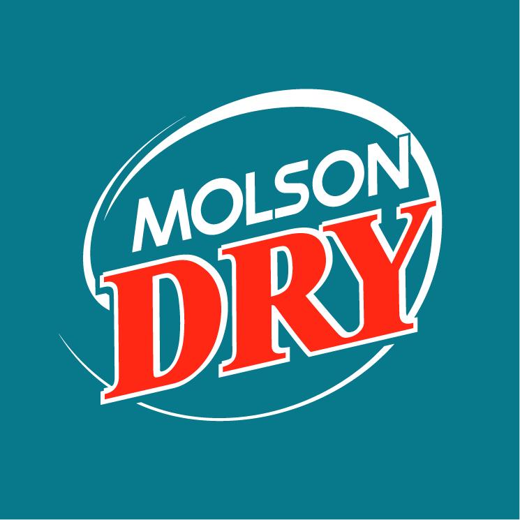 free vector Molson dry 2