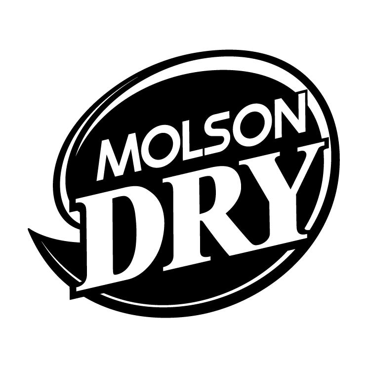 free vector Molson dry 4