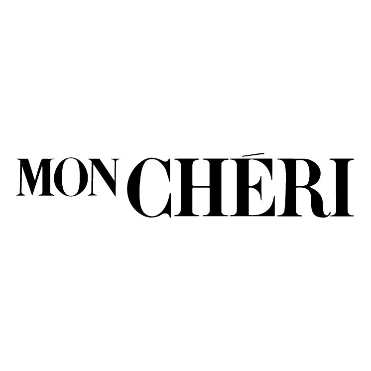 free vector Mon cheri
