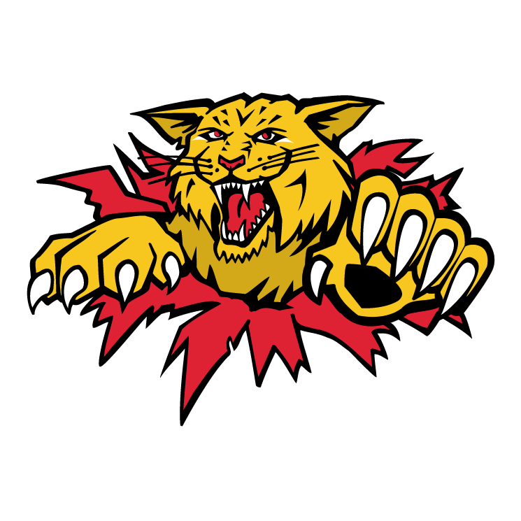 free vector Moncton wildcats