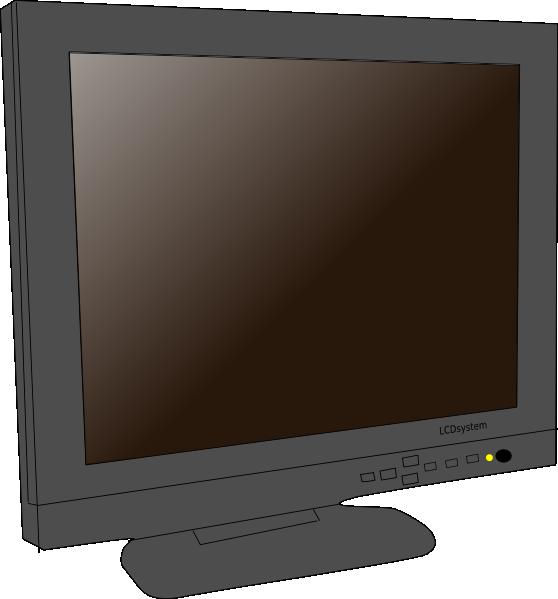 free vector Monitor Lcd clip art