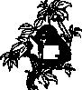 free vector Monkey Reading clip art