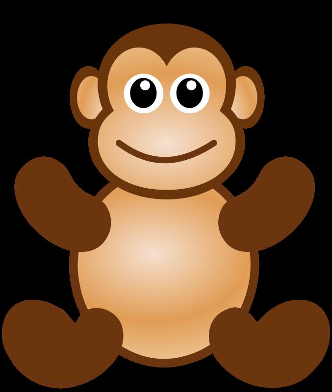 free vector Monkey toy