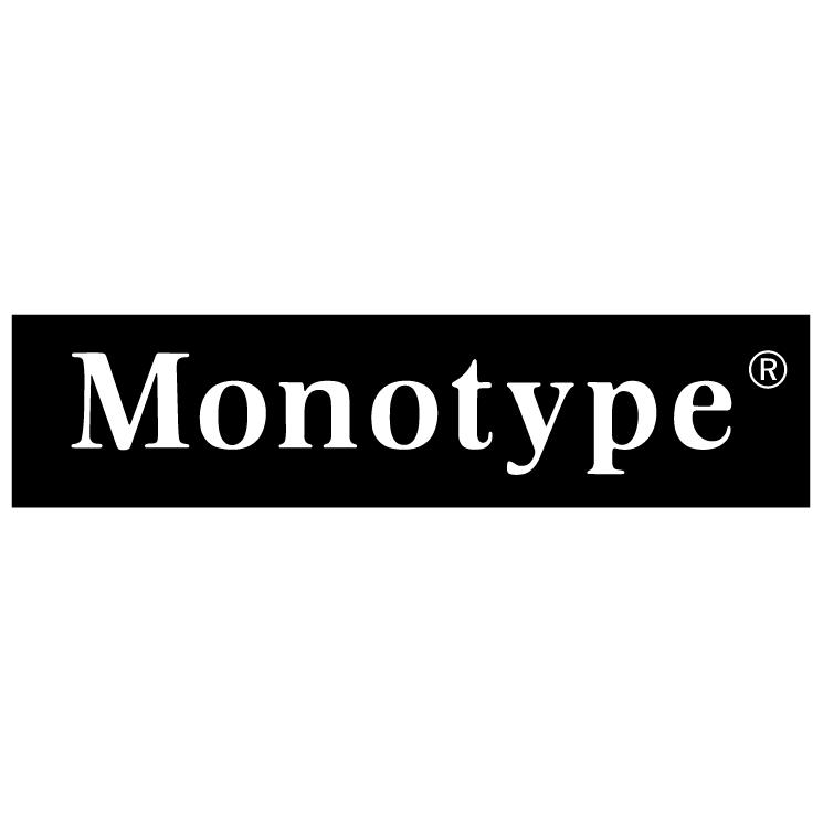free vector Monotype