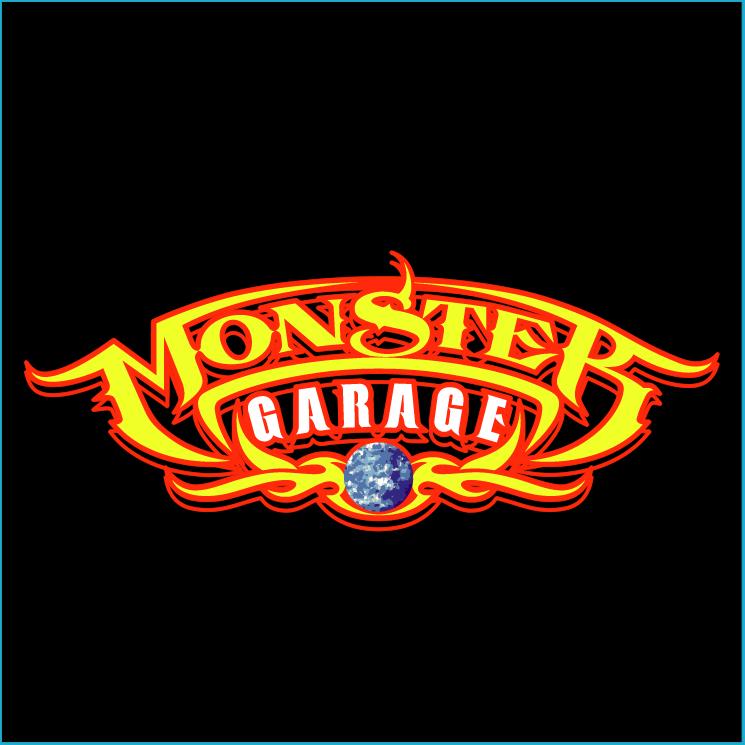 free vector Monster garage