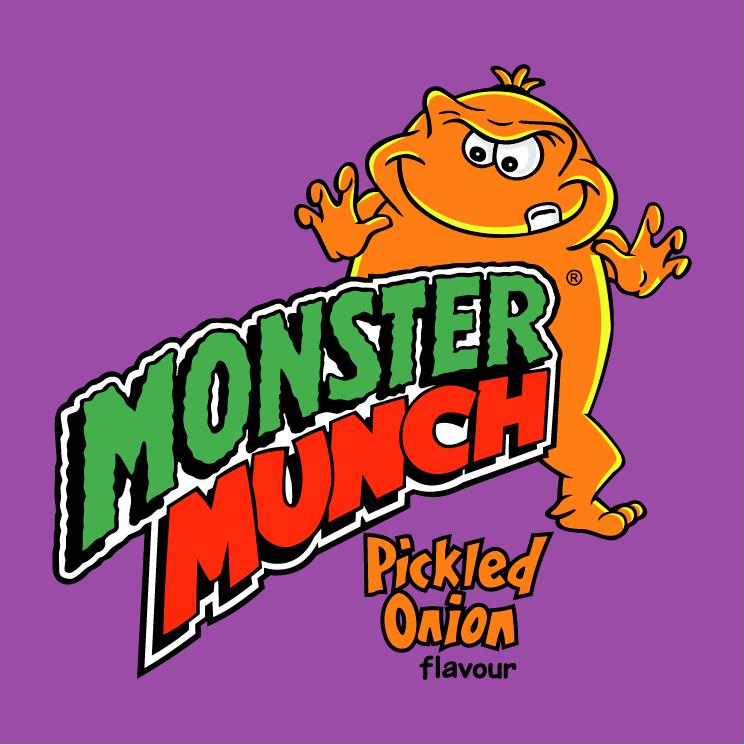 free vector Monster munch
