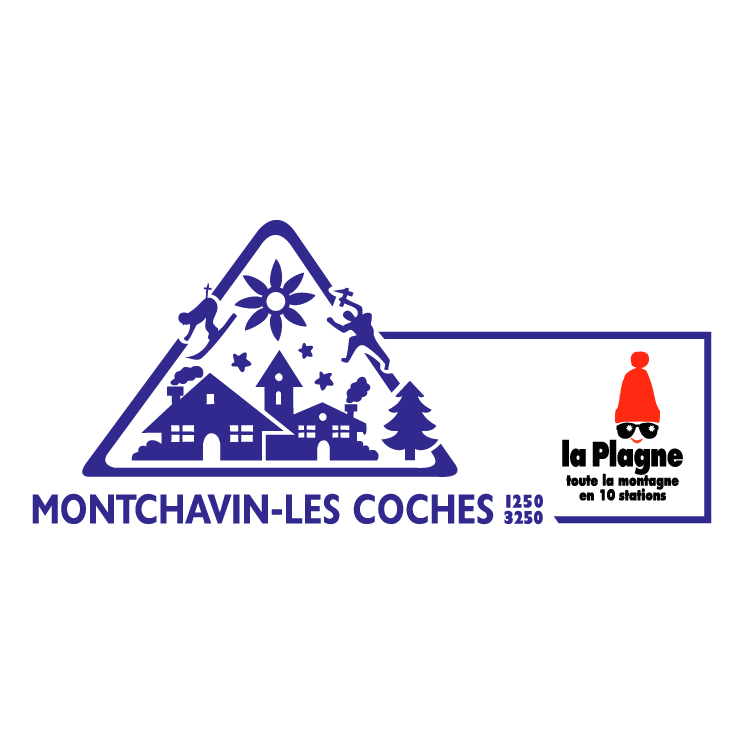 free vector Montchavin les coches 1