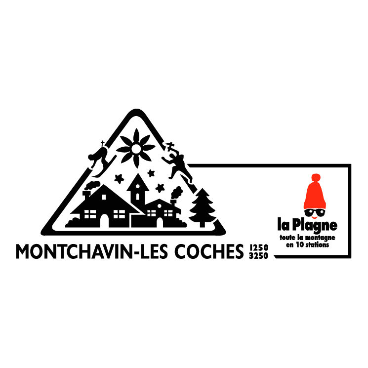 free vector Montchavin les coches 2