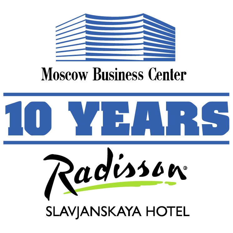 free vector Moscow business center 10 years