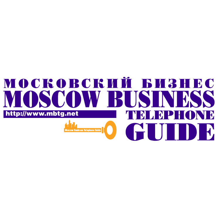 free vector Moscow business telephone guide