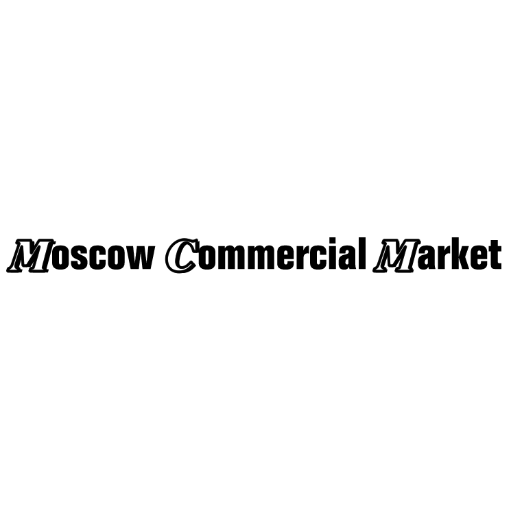 free vector Moscow commercial market