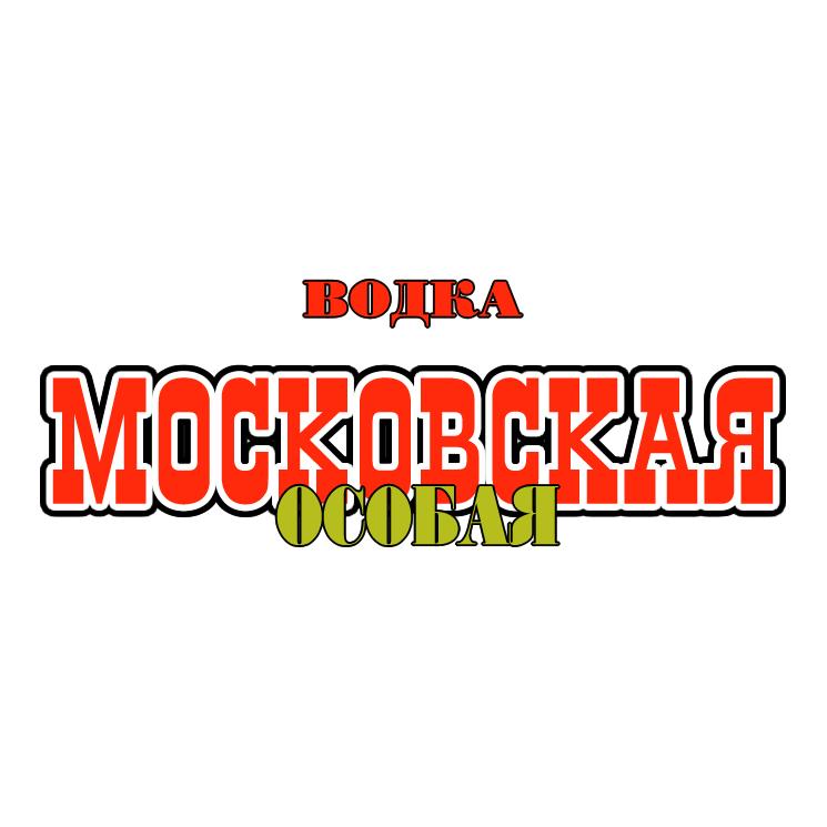 free vector Moskovskaya vodka 1