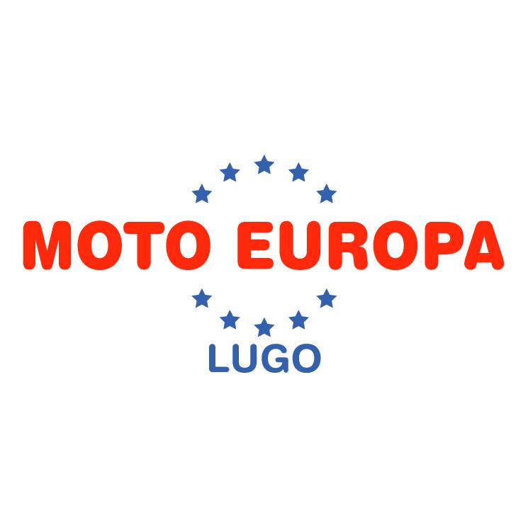 free vector Moto europa