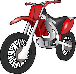 free vector Motobike clip art