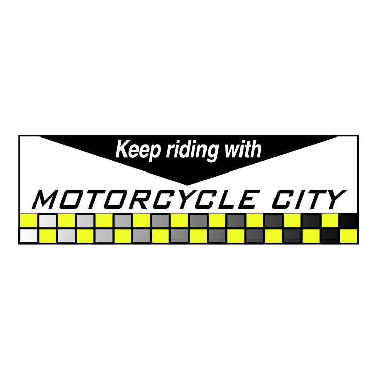 free vector Motor cycle city
