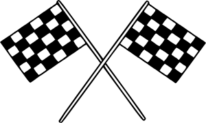 free vector Motor Racing Flags clip art