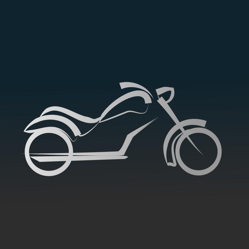 free vector Motorbike icon