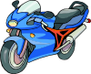 free vector Motorcycle clip art