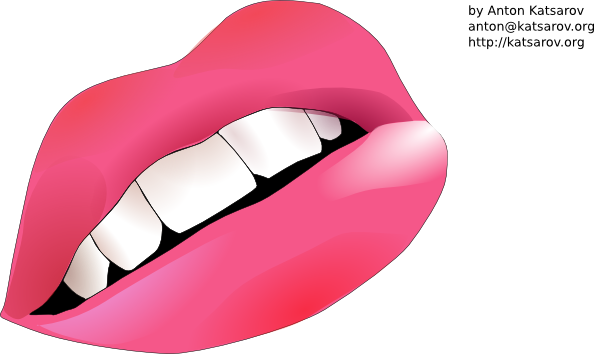 free vector Mouh Lips clip art