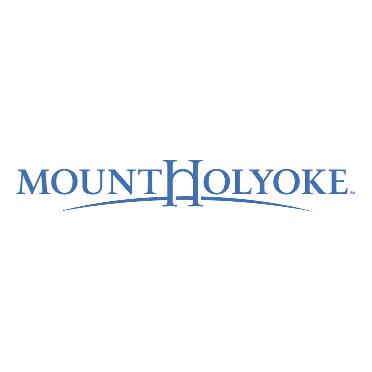 free vector Mount holyoke college 0