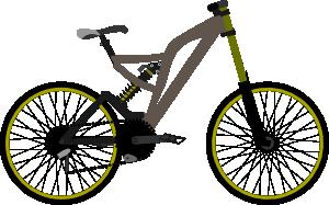 free vector Mountain Bike clip art
