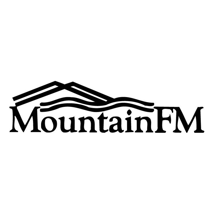 free vector Mountain fm