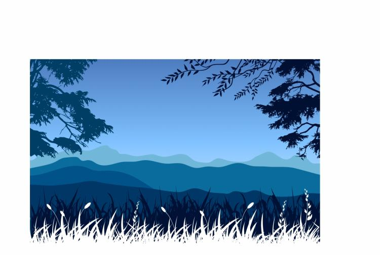 mountains landscape free vector 4vector